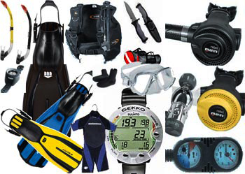 PADI Equipment Specialty